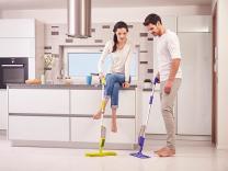 Мытье полов различного типа на профессиональном уровне