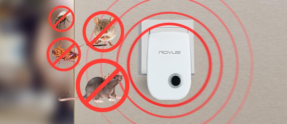 НОВИНКА! Устройство для отпугивания вредителей Pest Repeller