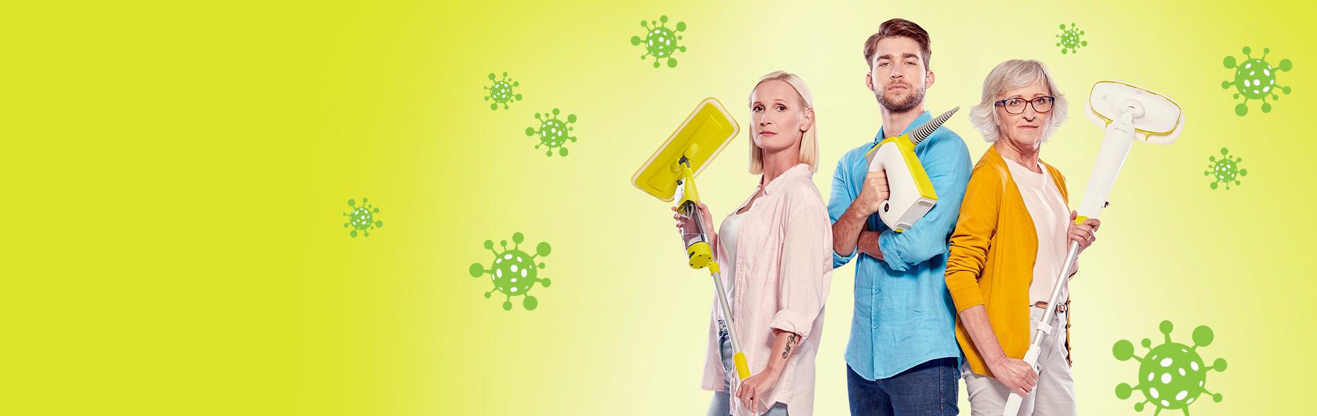 Боритесь с вирусами и бактериями!